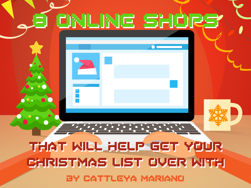 8 online shops that will help get your christmas list over with