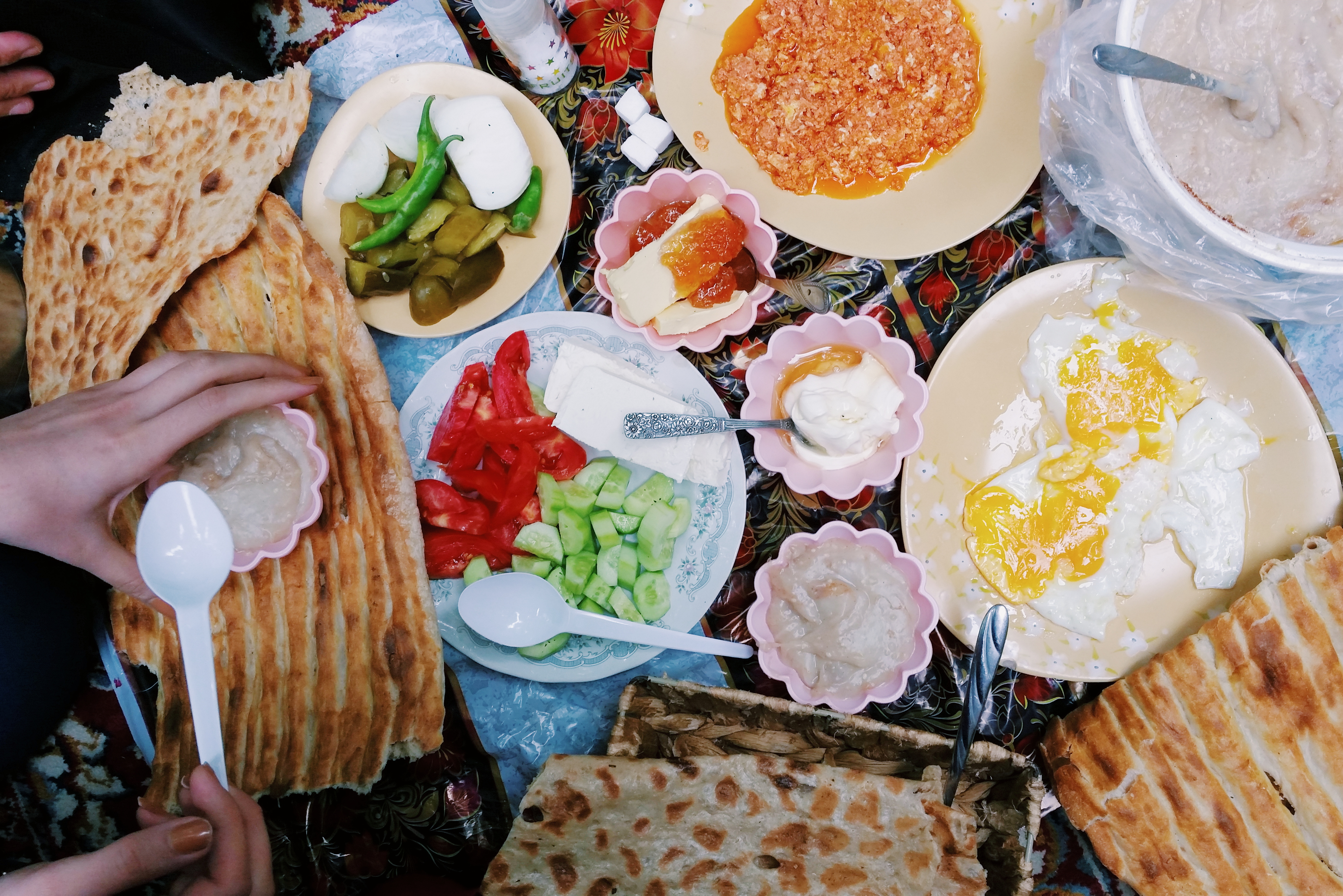 1 Breakfast Plates from Around the World