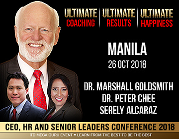 Dr Marshall Goldsmith ITD Manila