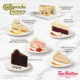 Tim Hortons x The Cheesecake Factory Cakes