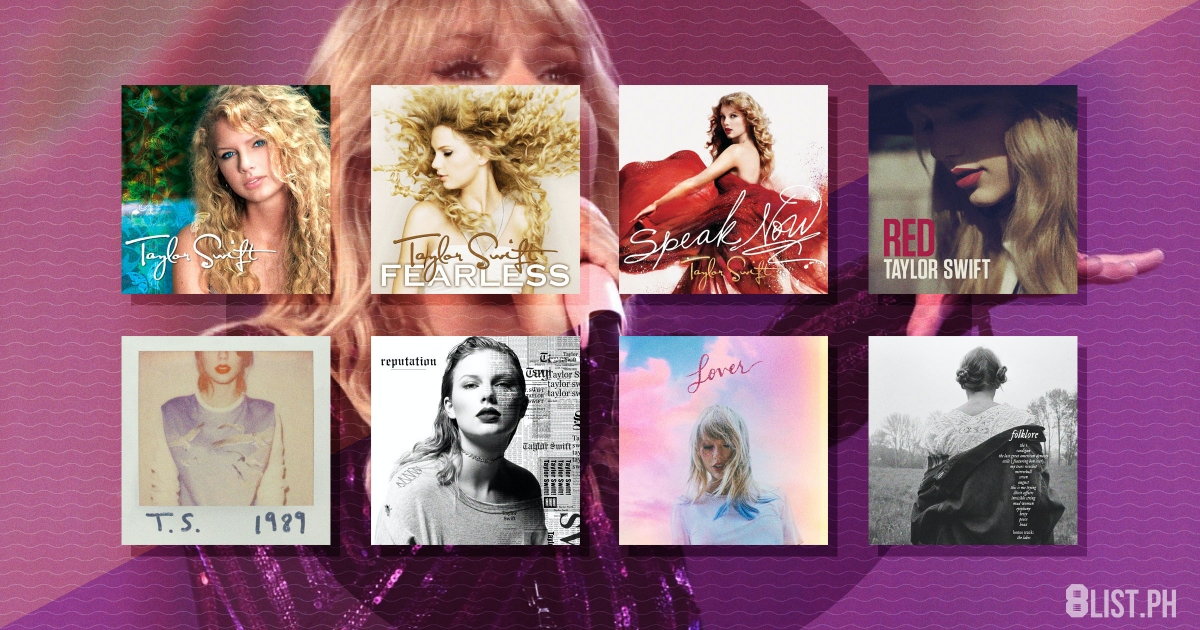 Here S Every Taylor Swift Album Ranked 8list Ph