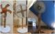 wooden electric fan